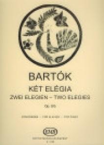 BARTOK B. ELEGIES OP 8/B PIANO