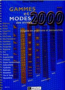 SEBASTIAN D. GAMMES ET MODES DES ANNEES 2000 GUITARE