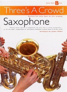 THREE'S A CROWD JUNIOR BOOK B EASY SAXOPHONES