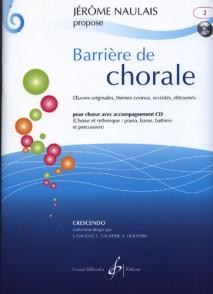 NAULAIS J. BARRIERE DE CHORALE VOL 2 CHOEUR