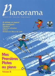 PIANORAMA MES PREMIERES PISTES AVEC CD