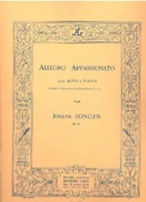 JONGEN J. ALLEGRO APPASSIONATO OP 79 ALTO