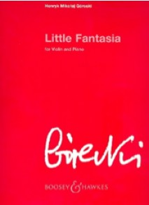 GORECKI H.M. LITTLE FANTASIA OP 73 VIOLON