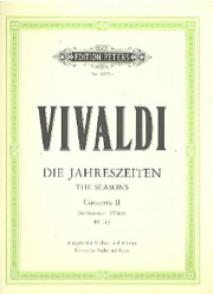 VIVALDI A. CONCERTO L'ETE OP 8 N°2  VIOLON