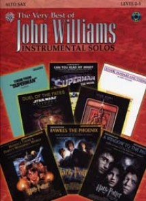 WILLIAMS J. THE VERY BEST OF INSTRUMENTAL SOLOS SAXO ALTO