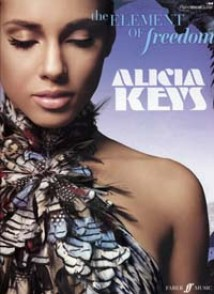 KEYS ALICIA THE ELEMENT OF FREEDOM PIANO VOCAL GUITARE