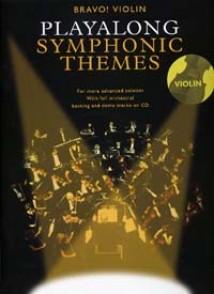 PLAYALONG SYMPHONIC THEMES VIOLON