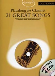GUEST SPOT 21 GREAT SONGS GOLD EDITION CLARINET