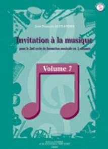ALEXANDRE J.F. INVITATION A LA MUSIQUE VOL 7