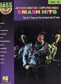 BASS PLAY ALONG VOL 10: HENDRIX J. SMASH HITS EXPERIENCE