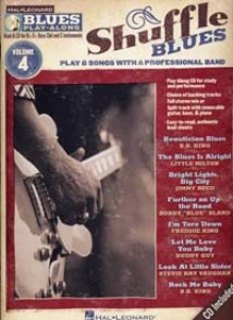 BLUES PLAY-ALONG VOL 04 SHUFFLE BLUES BB, EB, BASS CLEF ET C INCTRUMENTS