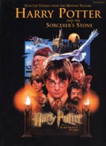 POTTER HARRY AND THE SORCERER'S STONE PIANO