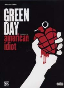 GREEN DAY AMERICAN IDIOT PVG