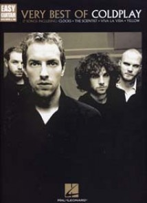 COLDPLAY VERY BEST OF EASY GUITAR