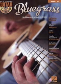 GUITAR PLAY-ALONG VOL 77 BLUEGRASS