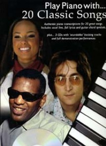 PLAY PIANO WITH 20 CLASSIC SONGS PVG