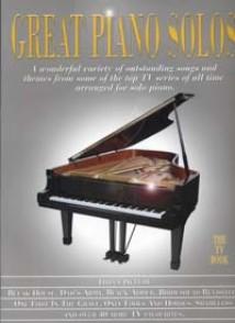 GREAT PIANO SOLOS THE TV BOOK PIANO