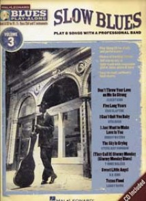 BLUES PLAY-ALONG VOL 03 SLOW BLUES BB, EB, BASS CLEF, C INSTRUMENTS