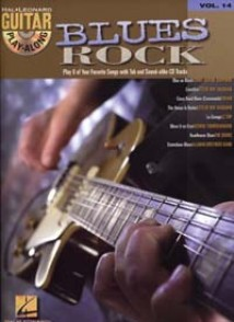 GUITAR PLAY ALONG VOL 014 BLUES ROCK GUITARE
