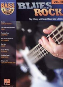 BASS PLAY-ALONG VOL 18 BLUES ROCK BASSE
