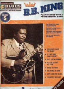 BLUES PLAY-ALONG VOL 05 B.B. KING BB, EB, C INSTRUMENTS