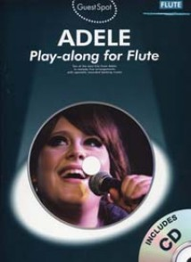 GUEST SPOT ADELE PLAY-ALONG FOR FLUTE