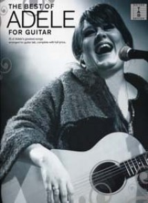 ADELE THE BEST OF GUITARE