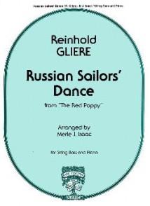 GLIERE R. RUSSIAN SAILOR'S DANCE CONTREBASSE