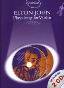 GUEST SPOT ELTON JOHN PLAY-ALONG VIOLON