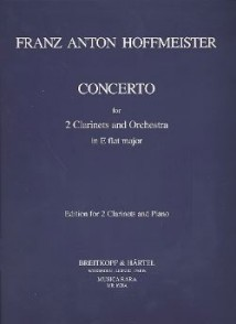 HOFFMEISTER F.A. CONCERTO MIB CLARINETTES