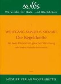 MOZART W.A. DIE KEGELDUETTE CLARINETTES