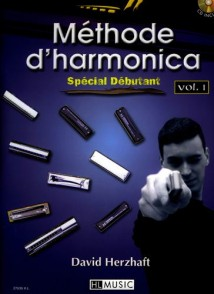 HERZHAFT D. METHODE D'HARMONICA VOL 1