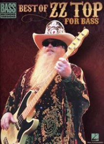 ZZ TOP BEST OF FOR BASS