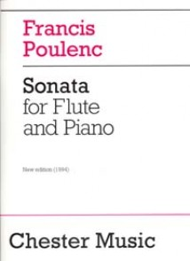 POULENC F. SONATA FLUTE
