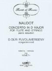 NAUDOT J.J. CONCERTO RE MAJEUR FLUTE