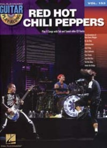 GUITAR PLAY ALONG VOL 153 RED HOT CHILI PEPPERS