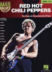 BASS PLAY ALONG VOL 42 RED HOT CHILI PEPPERS