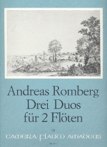 ROMBERG A. DUOS CONCERTANT OP 62  FLUTES
