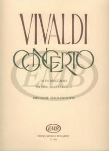VIVALDI A. CONCERTO FA MAJEUR HAUTBOIS