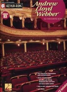 JAZZ PLAYALONG VOL 83 A.L. WEBBER
