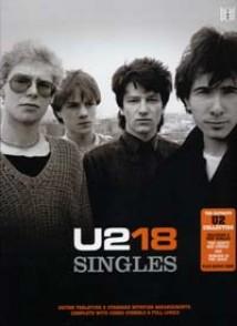 U2 18 SINGLES GUITARE