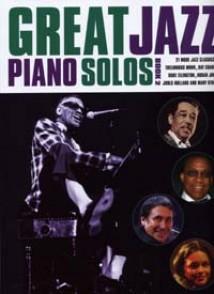 GREAT JAZZ PIANO SOLOS VOL 2