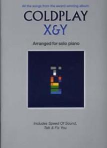COLDPLAY X & Y PIANO