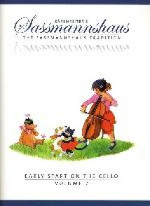 SASSMANNSHAUS EARLY START ON THE CELLO BOOK 2
