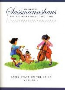 SASSMANNSHAUS EARLY START ON THE CELLO BOOK 3