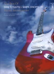 DIRE STRAITS & KNOPFLER BEST OF PRIVATE INVESTIGATIONS GUITARE