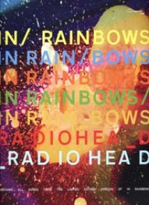 RADIOHEAD IN RAINBOWS GUITARE