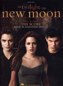 TWILIGHT (THE) SAGA NEW MOON PIANO