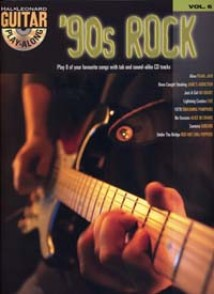 GUITAR PLAY-ALONG VOL 06 90S ROCK GUITARE