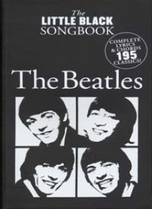 BEATLES (THE) LITTLE BLACK BOOK SONGBOOK